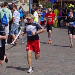 The 24th Nordea Riga marathon - Artūrs Levins (1397), Ruslans Pojoniševs (6605)