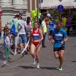 The 24th Nordea Riga marathon - Alexandra Schwartze (10440), Nauris Šīmans (11397)