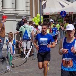 The 24th Nordea Riga marathon - Argo Paavel (982), Jānis Lībietis (6276)