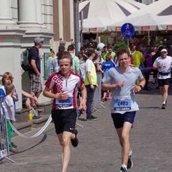 The 24th Nordea Riga marathon - Edgars Ustinovs (7483), Valters Reneslācis (7485)