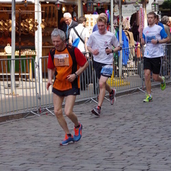 The 24th Nordea Riga marathon - Vladimir Bobylev (748), Aleksandrs Sisojevs (9205)
