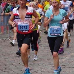 24. Nordea Riia maraton - Sanita Liljē (9372), Ainārs Liljē (9373)