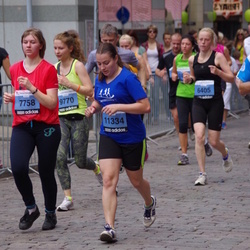 24. Nordea Riia maraton - Anastasija Oprisņaka (7758), Agnese Apsīte (11334)