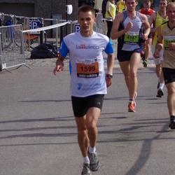 The 24th Nordea Riga marathon - Uldis Klepers (1599), Jānis Skujenieks (4182)
