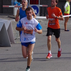 The 24th Nordea Riga marathon - Ansis Šteiners (41), Igors Seņko (1685)