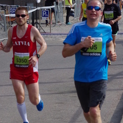 The 24th Nordea Riga marathon - Mihails Golubevs (2464), Ruslans Šuļga (5350)