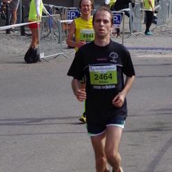 The 24th Nordea Riga marathon - Mihails Golubevs (2464), Jānis Mežiels (4944)