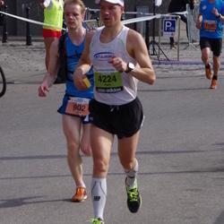 The 24th Nordea Riga marathon - Dins Vecāns (902), Jani Kujanpää (1166), Asko Kuusalu (4224)