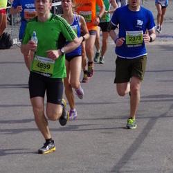 The 24th Nordea Riga marathon - Rolands Zauls (2373), Jānis Šneiders (4899)