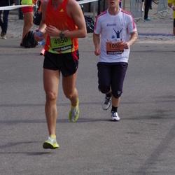 The 24th Nordea Riga marathon - Valdemaras Milkus (1055), Andis Laveiķis (4550)