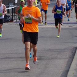 The 24th Nordea Riga marathon - Oskars Laucis (4574), Kristaps Magone (4740)