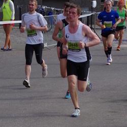 The 24th Nordea Riga marathon - Aleksandrs Cepilovs (2071), Uldis Ķemers (2448), Mārcis Viškints (4497)