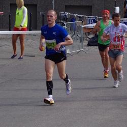 The 24th Nordea Riga marathon - Mikolaj Kowalczyk (1639), Aleksandrs Cepilovs (2071)