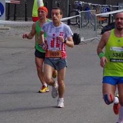 The 24th Nordea Riga marathon - Mikolaj Kowalczyk (1639), Mārcis Standzenieks (5347)