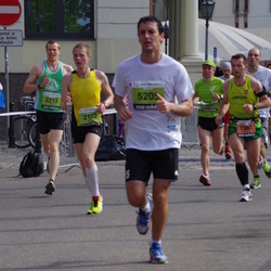 The 24th Nordea Riga marathon - Artūrs Braučs (2152), Nick Keen (2213), Gatis Bojārs (5205)