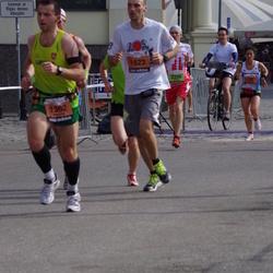 The 24th Nordea Riga marathon - Vaidotas Bauzys (1362), Ivars Vertuls (1623), Lukasz Strzemecki (2356)