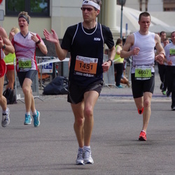 The 24th Nordea Riga marathon - Mežulis Ansis (1451), Ivars Kļaviņš (4306), Artūrs Rukkalns (4607)