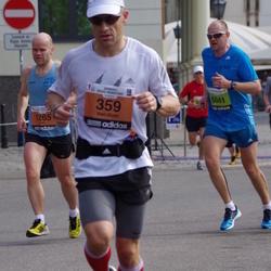 The 24th Nordea Riga marathon - Veli-Matti Aho (359), Jon Jorgensen (1265), Mareks Skujiņš (5041)