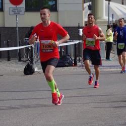 The 24th Nordea Riga marathon - Edijs Reimanis (1636), Aram Markus Isik (3052)