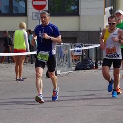 The 24th Nordea Riga marathon - Jānis Vanags (1401), Felix Haldenstein (2386)