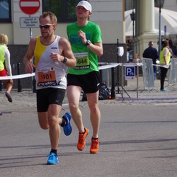 The 24th Nordea Riga marathon - Jānis Vanags (1401), Kaspars Vītols (4644)
