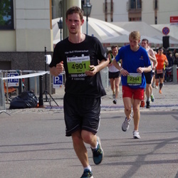 The 24th Nordea Riga marathon - Didzis Malderis (2344), Artis Luguzis (4901)