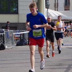 The 24th Nordea Riga marathon - Miķelis Zumbergs (1402), Didzis Malderis (2344)