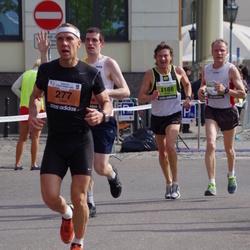 The 24th Nordea Riga marathon - Timo Lempiäinen (277), Jarmo Kopra (4188)