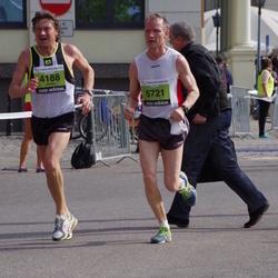The 24th Nordea Riga marathon - Jarmo Kopra (4188), Seppo Vuorinen (5721)