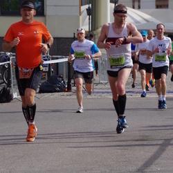 The 24th Nordea Riga marathon - Valdis Tilts (3987), Simon Armitstead (4338), Alvis Rogozins (5409)