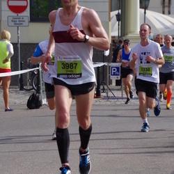 The 24th Nordea Riga marathon - Valdis Tilts (3987), Simon Armitstead (4338)