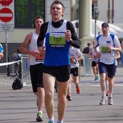 The 24th Nordea Riga marathon - Boulay Aurel (60), Edgars Ozols (107)