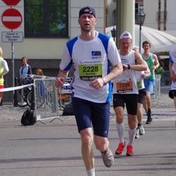 The 24th Nordea Riga marathon - Andres Laineste (1336), Rolands Millers (2228)