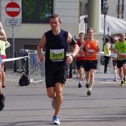 The 24th Nordea Riga marathon - Samuel Janzon (732), Brent Wilde (2419)