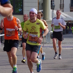 The 24th Nordea Riga marathon - Normunds Pekuss (284), Michael Fuhrmann (2045)
