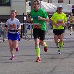 The 24th Nordea Riga marathon - Walther Van Dijck (238), Ulla Huopaniemi (935), Rashid Davletshin (1677)