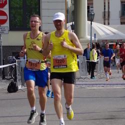 24. Nordea Riia maraton - Gatis Kveders (815), Jēkabs Krastiņš (1220)