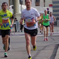 The 24th Nordea Riga marathon - Andrey Ridzel (379), Arturs Udarskis (1684)