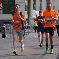 The 24th Nordea Riga marathon - Mārtiņš Ketners (1152), Tom Reidar Skattenborg (2333)