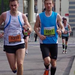 The 24th Nordea Riga marathon - Tero Kallio (1318), Gatis Pūcītis (2311)