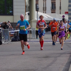 The 24th Nordea Riga marathon - Vita Devjatnikova (218), Ainārs Skrubis (1479), Tarmo Hõbe (1664), Aleksandrs Terlanovs (4016)