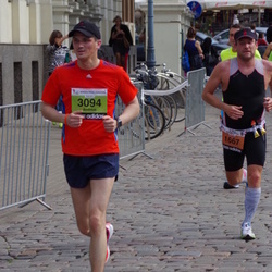 The 24th Nordea Riga marathon - David Vallner (1667), Andrius Lapiene (3094)