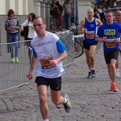 The 24th Nordea Riga marathon - Filippo Carraro (677), Gilles Cardon (1328)