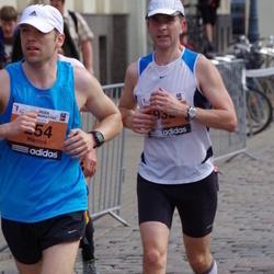 The 24th Nordea Riga marathon - Mārtiņš Marnauza (254), Otso Ylönen (932)