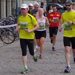 24. Nordea Riia maraton - Francisco Javier Jimenez Plaza (849), Janis Zeberlins (4228), Kaspars Zudrags (4654)