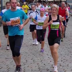 24. Nordea Riia maraton - Normunds Kuzāks (1564), Aiga Rozenberga (3411), Karīna Krūmiņliepa (5248)