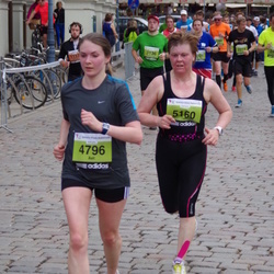 24. Nordea Riia maraton - Aet Kiivet (4796), Ritva Ylitervo (5160)