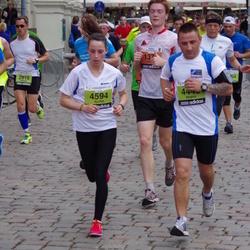 24. Nordea Riia maraton - Aleksejs Šapurovs (2818), Aļona Meļņika (4594)