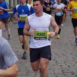 24. Nordea Riia maraton - Deniaud Laurent (329), Emīls Mors (4047), Maciej Wojcik (4382)