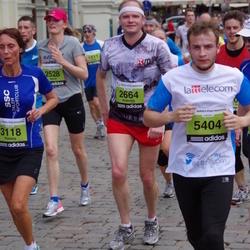 24. Nordea Riia maraton - Ingvild Haugan (2528), Anatolijs Ozoliņš (2664), Agnese Beināre (3188), Armands Sīlītis (5404)